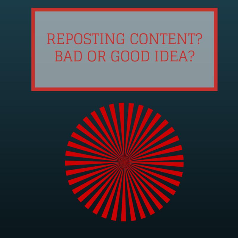 reposting von content