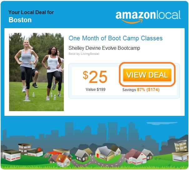 HubSpot - Ansprechende Marketing-E-Mails schreiben - Beispiel von Amazon Local
