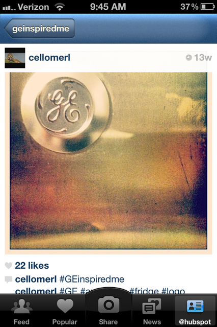 GE Inspired Instagram Contest