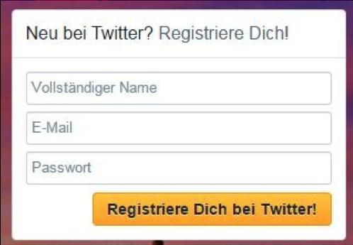 Twitter_Registrierung