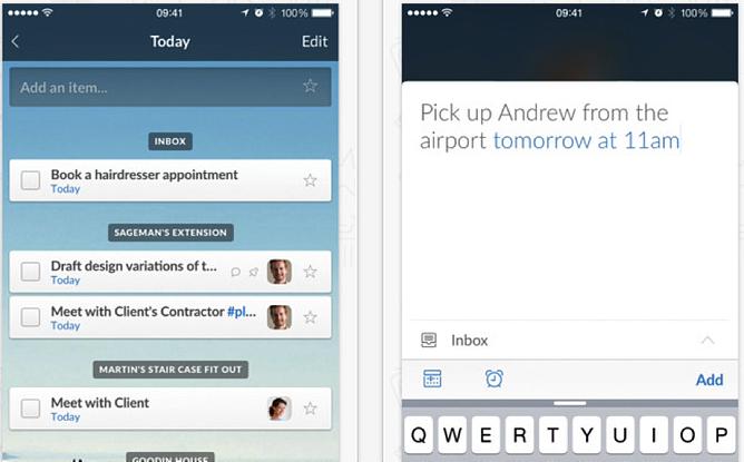 HubSpot – Apps für Vertriebsmitarbeiter – Wunderlist