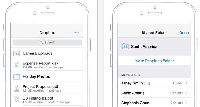 HubSpot – Apps für Vertriebsmitarbeiter – Dropbox