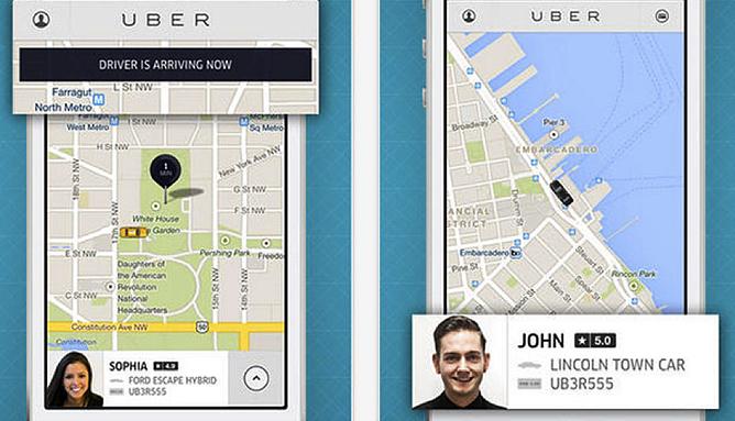HubSpot – Apps für Vertriebsmitarbeiter – Uber / Lyft