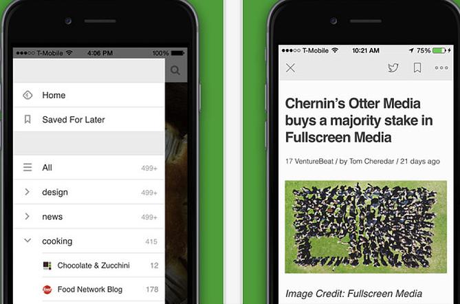 HubSpot – Apps für Vertriebsmitarbeiter – Feedly