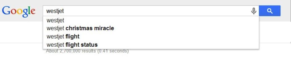 westjet-google-search