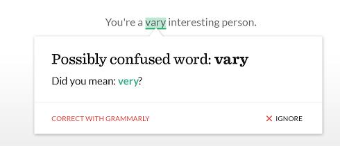 Google-Chrome-Erweiterungen für Vertriebsmitarbeiter – Grammarly