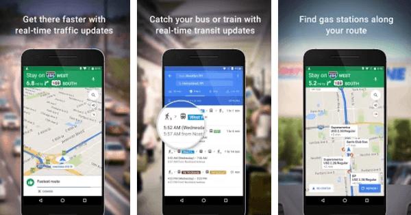 HubSpot – Apps für Vertriebsmitarbeiter – Google Maps