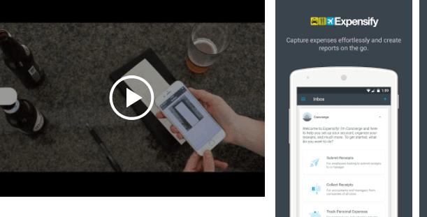 HubSpot – Apps für Vertriebsmitarbeiter – Expensify