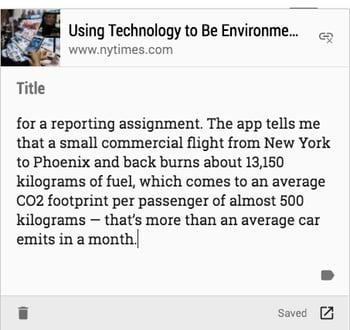 Google-Chrome-Erweiterungen für Vertriebsmitarbeiter – Google Keep