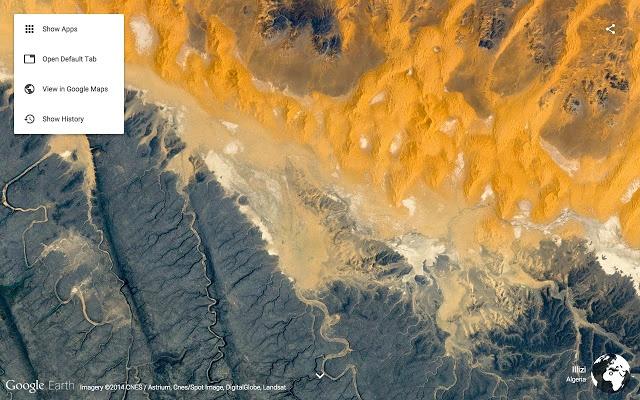 Google-Chrome-Erweiterungen für Vertriebsmitarbeiter – Earth View from Google Earth
