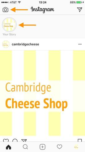 Eine InstagramStory erstellen
