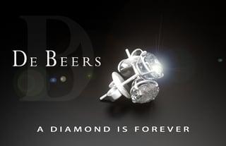 De Beers Werbekampagne Diamant