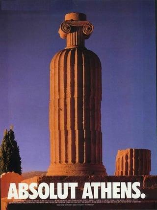 "Aboslut Werbekampagne ""Absolut Athens"""