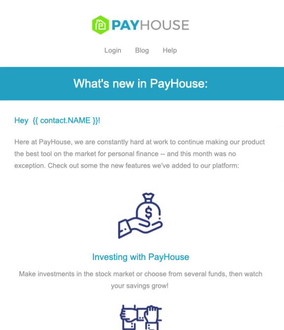 Newsletter Vorlage PayHouse
