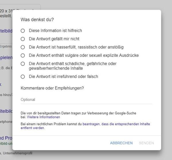 HubSpot-Google-Feedback-Tool