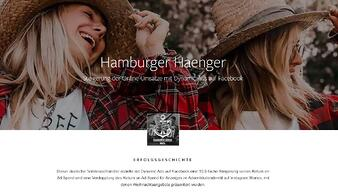 Facebook Video Ad von Hamburger Haenger