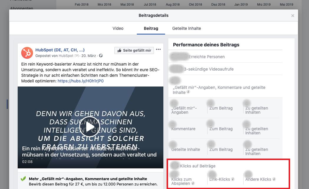 HubSpot-Klicks-auf-Beiträge