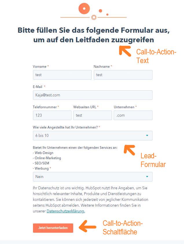 HubSpot-Landing-Pages-Formular