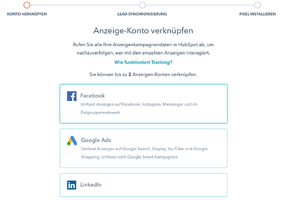hubspot und facebook verknüpfen