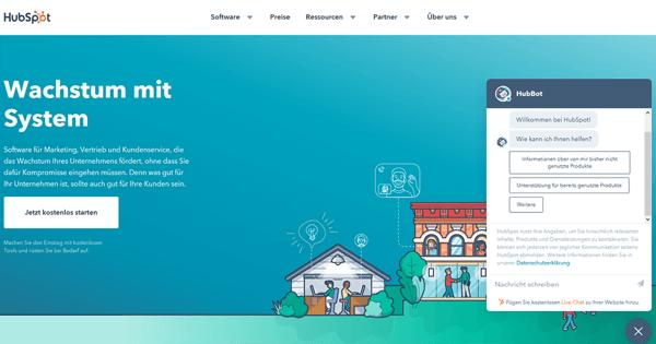 HubSpot-Aufstrebende-Technologien-Chatbot
