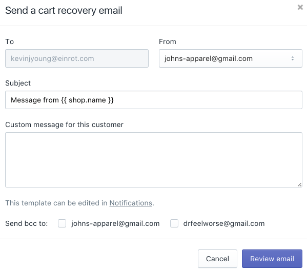 Aufgaben Marketing Automatisierung Shopify