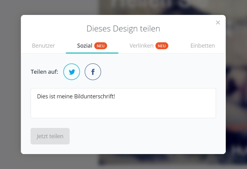 HubSpot - Visueller Content mit Canva - Design auf Social Media teilen