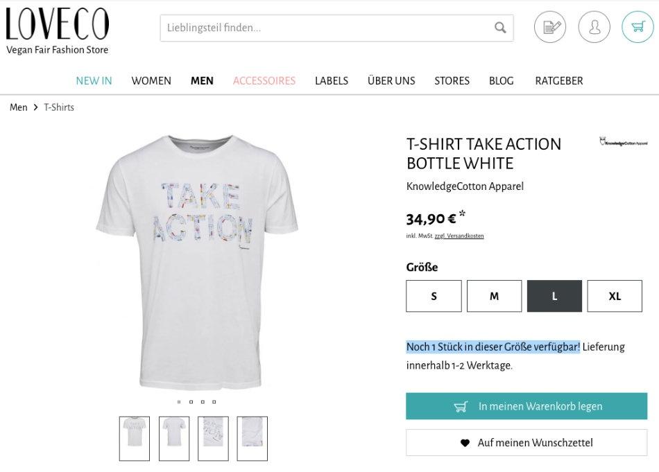 Loveco-Shop-verknappung-design-website
