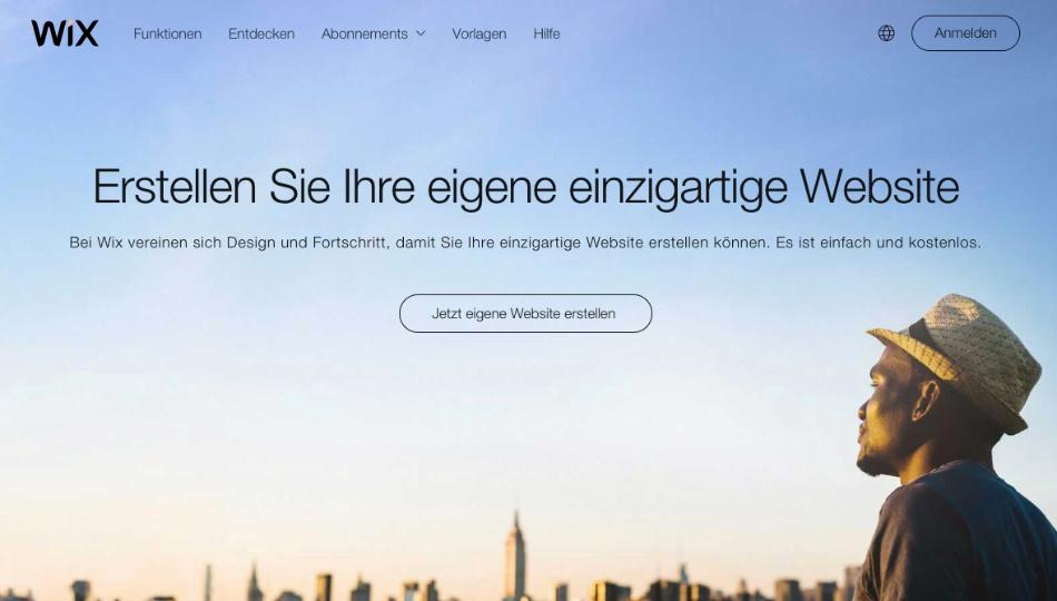 Wix-Website-Baukasten-design