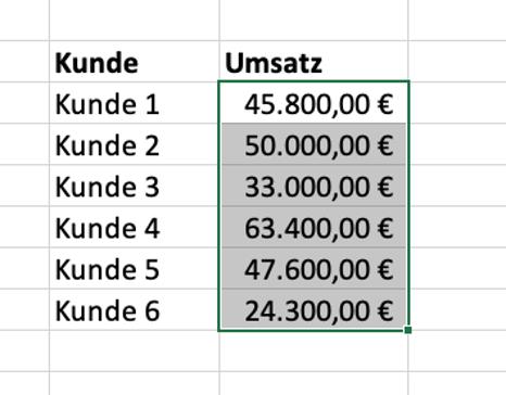 Excel SVERWEIS 7