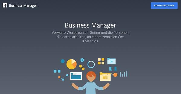 facebook business manager öffnen