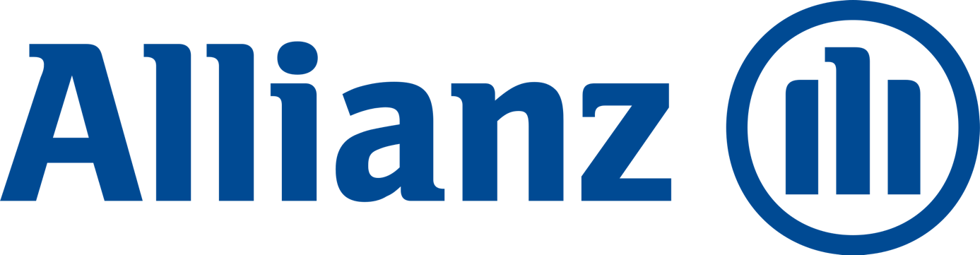 Farbpsychologie Marketing: Logo der Allianz