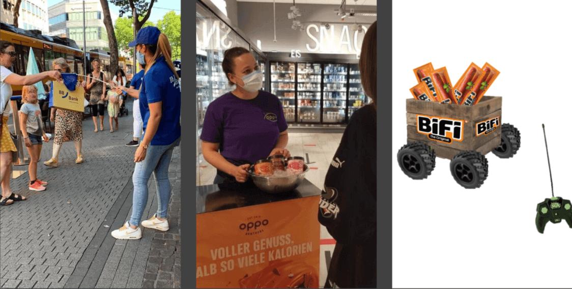 Field Marketing bei bifi in aktion