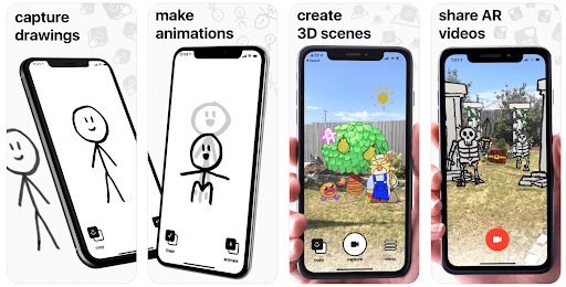 agmented reality mit doodlens app