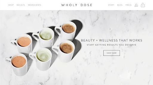 wholy dose website bilder von kaffee