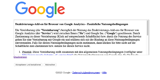 Google Analytics_Opt Out Cookie_2