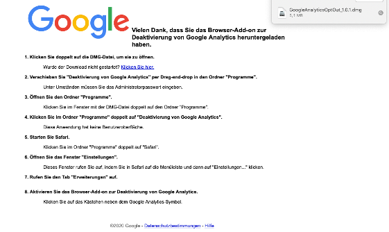 Google Analytics_Opt Out Cookie_3