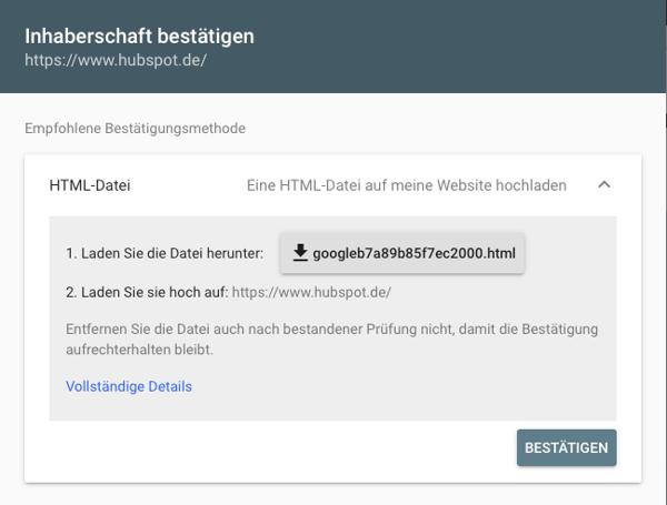 Google-Search-Console-einrichten-HTML-Datei