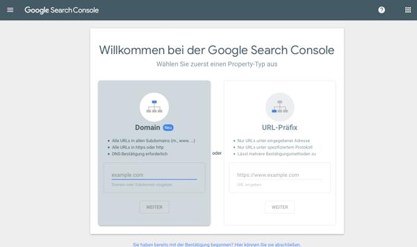 Google-Search-Console-einrichten-Property-anlegen