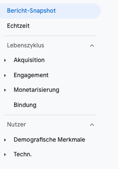 Google-Analytics 4 bericht