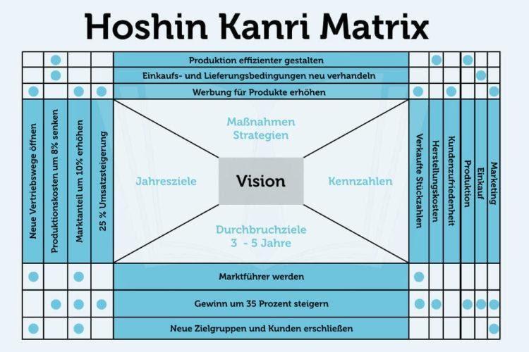 Hoshin Kanri Matrix