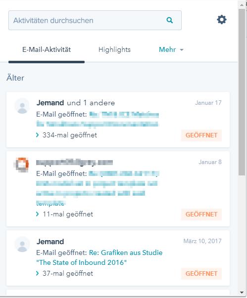 Tools für die Organisation Ihrer E-Mails – HubSpot Sales