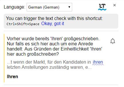 Google-Chrome-Erweiterungen für Vertriebsmitarbeiter – LanguageTool