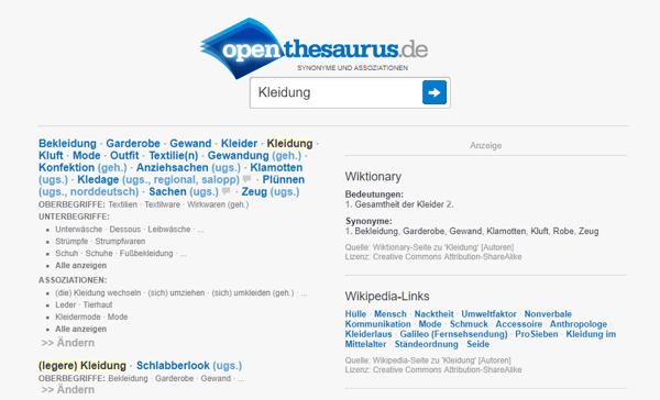 HubSpot-Openthesaurus