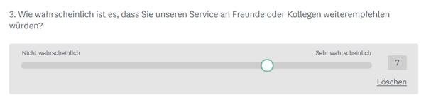 HubSpot-Umfrage-Bewertungsskala