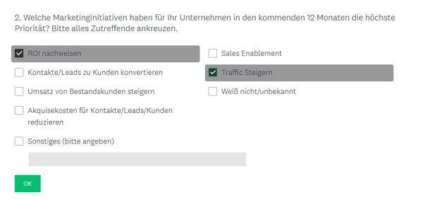 HubSpot-Umfrage-Mehrfachauswahl