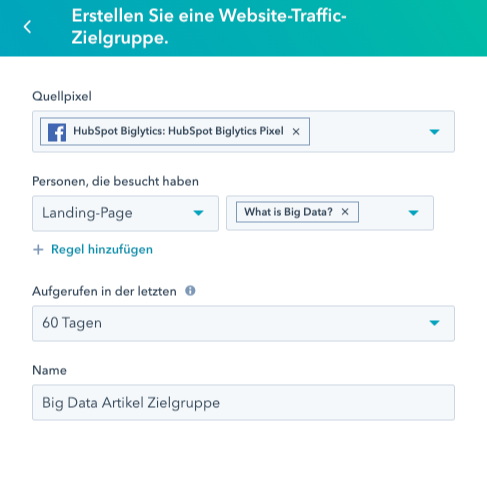 HubSpot-ads-manager-CMS-retargeting-ad-erstellen-1