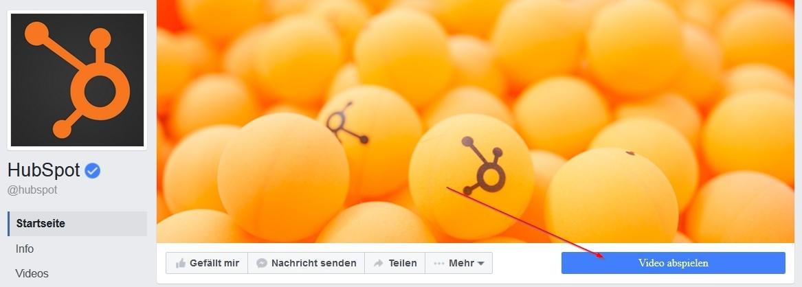 Inbound-Marketing - Beispiel eines Facebook-CTA