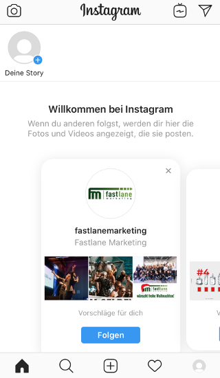 Instagram Account erstellen 6