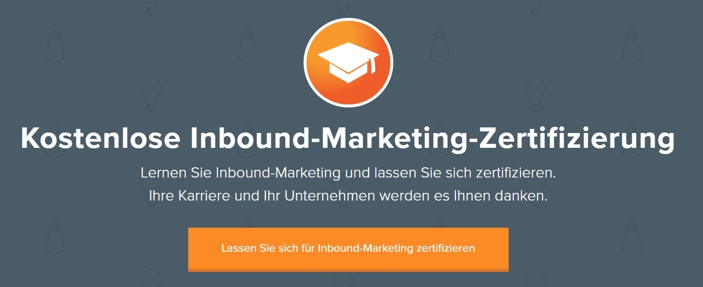 Inbound-Marketing-Zertifizierung