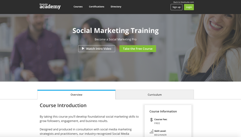 Online-Akademie-Hootsuite